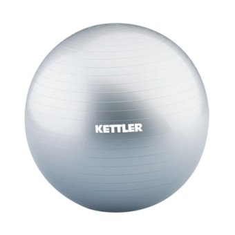 Harga Kettler: KAB0755 Gym Ball 55cm with hand pump (Silver)