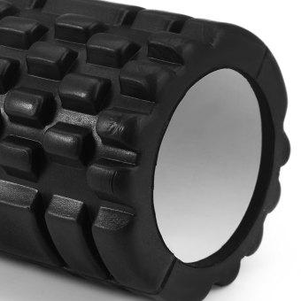 EVA Yoga Foam Roller Fitness Floating Point (Black) - 5