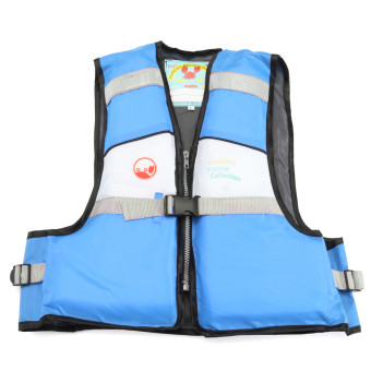 Harga Blue Child Kids Baby Buoyancy Aid Swimming Floating Life Jacket Vest 4 Color Size S - intl