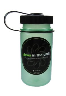 Harga Nalgene 12oz Mini-Grip Loop Top Green Glow