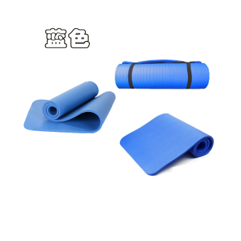 Harga NBR yoga mat exercise mat 10mm single yoga mat beginner's yoga mat fitness mat
