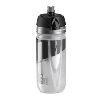 Harga Elite Jossanova 550ML Bike Bicycle Cycling Sports Water Bottle (Clear Grey)