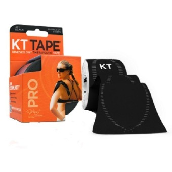 Harga KT Tape Pro 20 Pre-Cut Strips (Black)