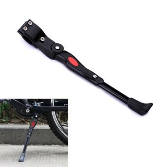 Harga PAlight MTB Mountain Bike Road Bicycle Foot Stand Mount Rear Parking Rack Hard Aluminium Side Support - intl