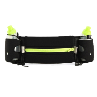 Harga New Waist Packs Running Belt Sports Water Bottle Beltmarathon Sport - intl