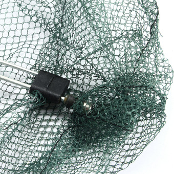 Protable Folded Fishing Net Small Fish Shrimp Minnow Crab Baits Cast Mesh Trap - intl - 3