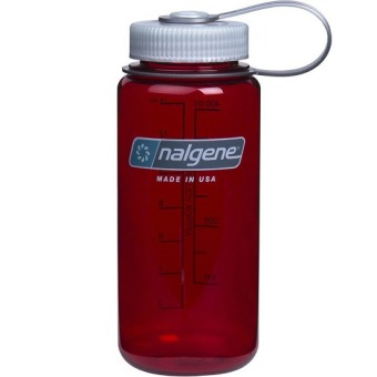 Nalgene 16oz Wide Mouth Bottle (Outdoor Red)