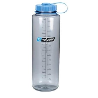 Nalgene Solo Tritan Wide-Mouth Water Bottle 48 oz(Gray)