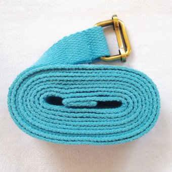 Harga Tan Yoga stretch belt Yoga iyengar yoga stretch cotton belt with