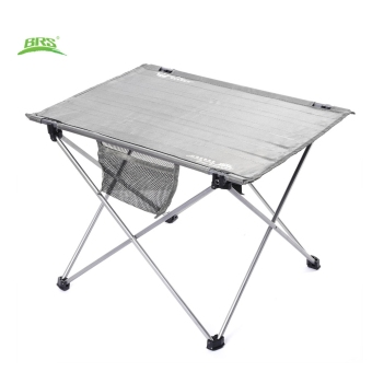 Harga BRS - Z33 Portable Outdoor Oxford Fabric Ultralight Foldable Table for Camping Hiking Picnic (Grey)