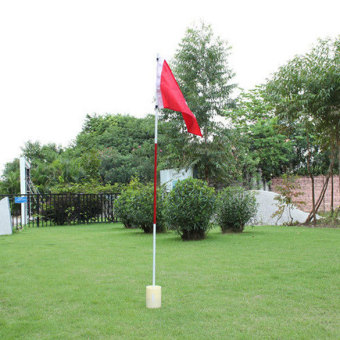 Harga Backyard Practice Golf Hole Pole Cup Flag Stick Putting Green Flagstick - Intl - intl