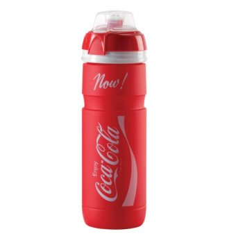 Harga Elite Super Corsa Coca-Cola 750ML Bike Bicycle Cycling Sports Water Bottle (Red)