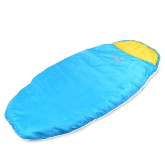 Harga 130+30 * 80cm Children Sleeping Bags Portable Ultra-light Envelopes Sleeping Bags with Compressed Bags sky blue - intl