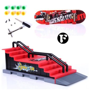 Harga M&C ..Skate Park Ramp Parts for Tech Deck Fingerboard Finger Board - intl