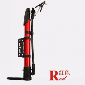 Car Cycling Tire Tyre Inflate Portable Bicycle Pump Foot Pedal Floor Pump Bike Air Inflator - intl - 2