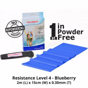Harga Sanctband Resistance Exercise Band (Resistance Level 4 - Blueberry)
