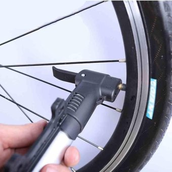 Cycling Bike Mini Frame Pump Bicycle Portable Tire Compact Air Inflator - intl