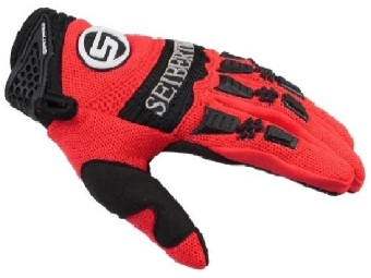 Harga Seibertron Dirtpaw Men's BMX MX ATV Racing Gloves Bicycle MTB Racing Off-road/Dirt bike Sports Gloves Red L - intl