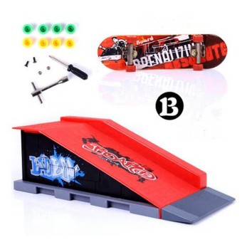Harga 6 Types Skate Park Ramp Parts for Tech Deck Fingerboard Ultimate Parks B - intl