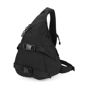 Free Soldier Waterproof Tactical Single Shoulder Bag - Black (18L)