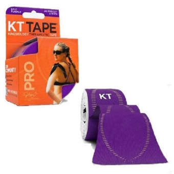 Harga KT TAPE PRO Purple 20 Pre-cut Stripe