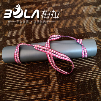 Harga Upscale yoga mat rope tied tied with colorful yoga mat yoga mat straps yoga mat strap