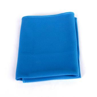 Harga Cooling Ice Towel for Sports Outdoor Exercise Golf Gym Blue