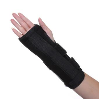 Wrist Brace Support Splint For Carpal Tunnel Arthritis Sports Sprain Strain Pain Left L - 4