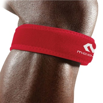 Harga McDavid 414 Level 2 Knee Strap / patella (Red) - Regular