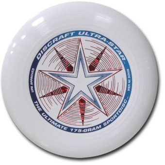 Harga Discraft Ultimate Frisbee Ultra-Star (White)