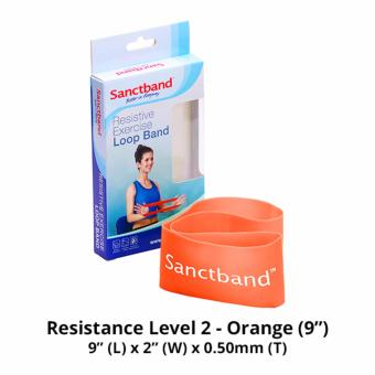 Harga Sanctband 9-inch Loop Band (Resistance Level 2 - Orange)