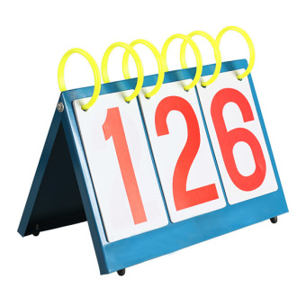 Multi-Purpose Sports Three Digit Flip Scoreboard for Knowge Contest - 3