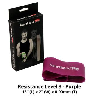 Harga Sanctband Active Loop Band (Resistance Level 3 - Purple)