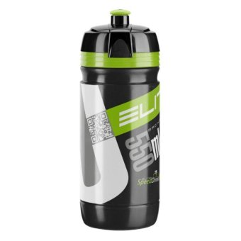 Harga Elite Corsa 550ml Bike Bicycle Cycling Sports Water Bottle (Black Green)
