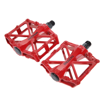 Harga Ultra-Light Alloy Cycling Pedals Universal RED....