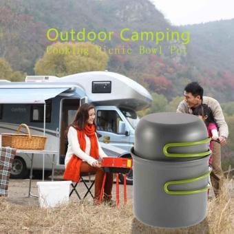 CHEER Cookware Outdoor Pan Camping Hiking Backpacking Cooking Picnic Bowl Pot - 4