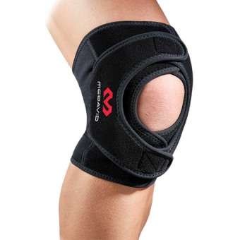 Harga McDavid 4192 Level 2 Knee Support / double wrap (Black) - Medium