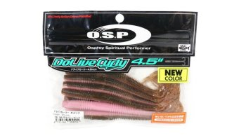 OSP Soft Lure Dolive Curly 4.5 Inches TW-148 (4202) 4573189504202