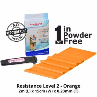 Harga Sanctband Resistance Exercise Band (Resistance Level 2 - Orange)