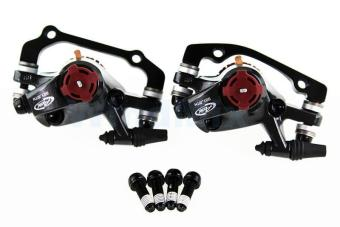 100% Original AVID BB7 Disc Brake Sets, 2 BB7 Brake Clipers+2 Bolts Mtb Bicycle Brake - intl