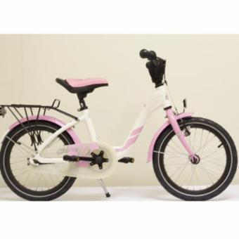 Harga S'cool 16In Kids Bike- Pink with Kids Bells Protection
