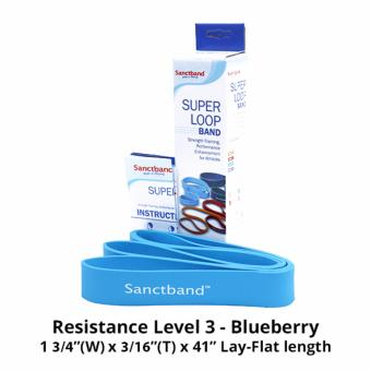 Harga Sanctband Super Loop Band (Resistance Level 3 - Blueberry)