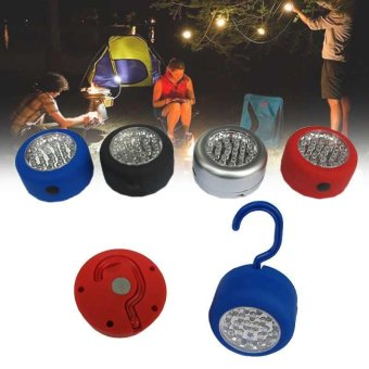 1pc Hanging Camping Tent Light Disc Fishing Lantern Lamp Outdoor LED Accessories