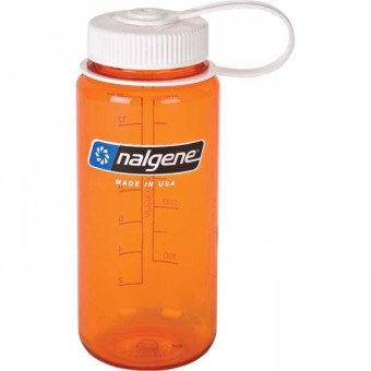 Nalgene 16 oz Wide Mouth Bottle(Orange)