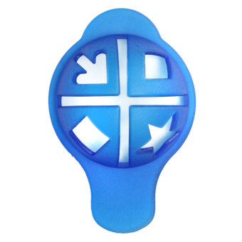 Harga Blue Plastic Golf Ball Line Liner Marker Drawing Template Alignment Mark Tool