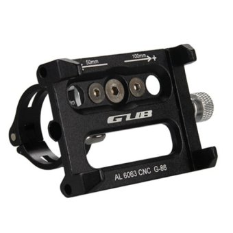 GUB G-86 Mobile phone rack for bicycle Black (EXPORT)