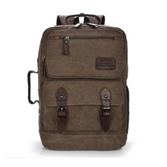 Large Canvas Travel Bag Duffel Bags Gym Tote Bags Weekend Bag - intl