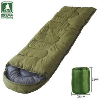 Outdoor Envelope-Style Sleeping Bag Anti-Kick Quilt Camping Sleeping Bag Camping Is Moisture Quilt Tent Adult Sleeping Bag