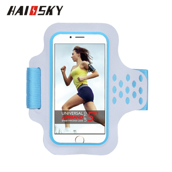 Plus sports mobile phone arm bag men and women running arm band