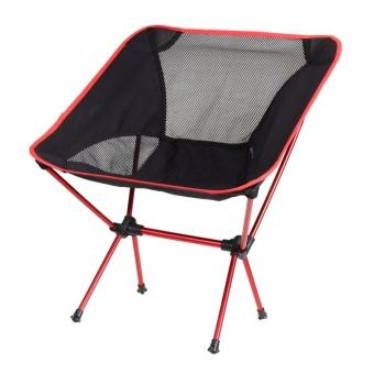 Portable Chair Folding Seat Stool Fishing Camping Hiking GardeningPouch - intl - 4